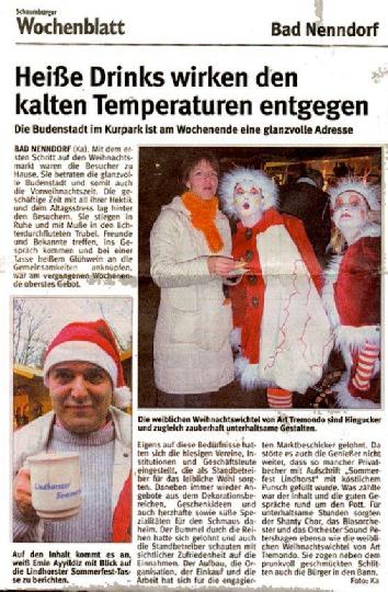Pressebericht 2000