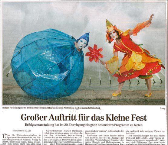Kleines Fest Im Grossen Garten Archive Stelzenlaufer Walkacts Art Tremondo